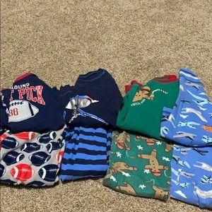 4 boys pajama sets size 5t